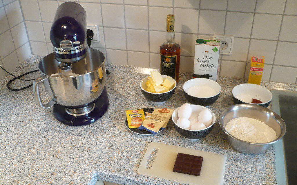 Kitchen Aid Marmorkuchen
