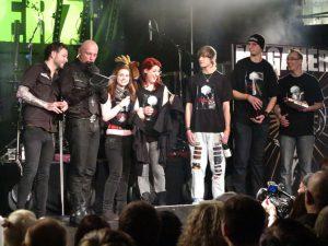 Megaherz Konzert - München Backstage FanClub Geschenck
