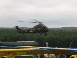 Oldtimer Fliegertreffen Hahnweide - Heeres Hubschrauber Sirkorsky S 58
