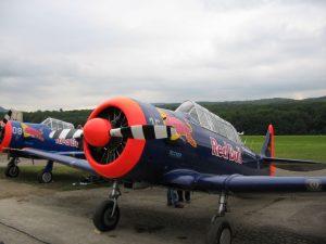 Oldtimer Fliegertreffen Hahnweide - Red Bull