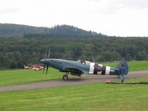 Oldtimer Fliegertreffen Hahnweide - Spitfire