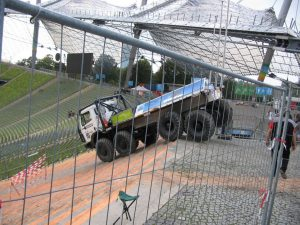 Truck Off Road Cup Muenchen 2007 - Mercedes 8x8