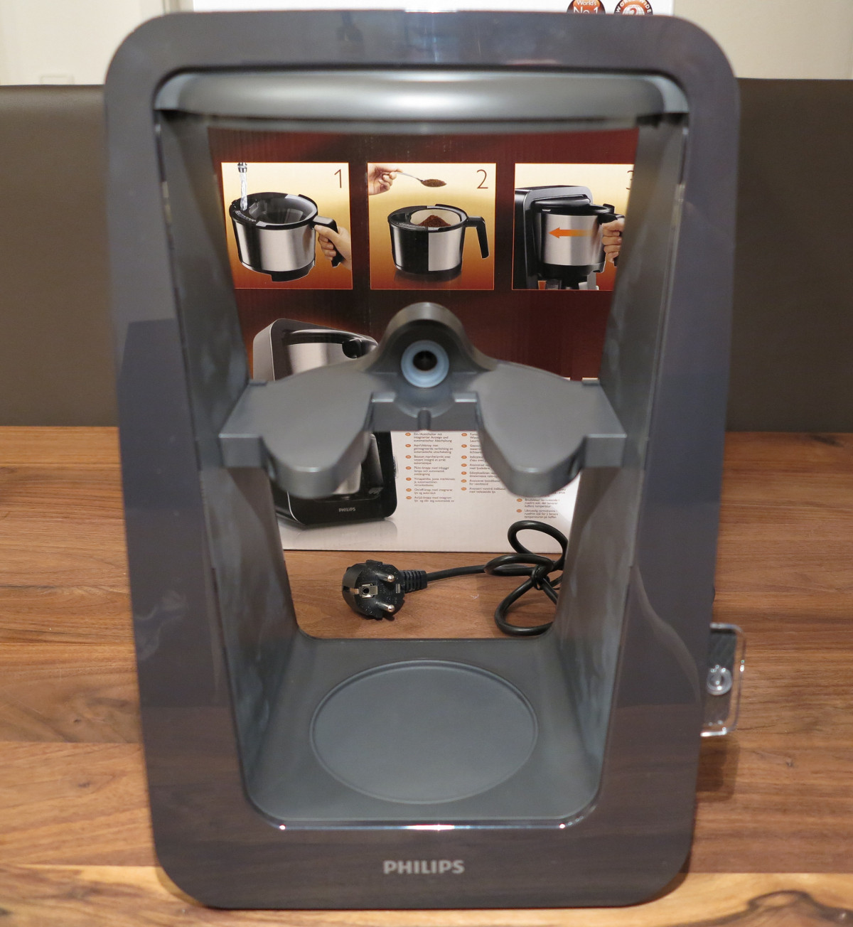 Philips HD7698/20 Kaffeeautomat Avance Serie Testbericht ...