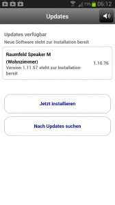 Teufel Raumfeld Speaker M - Update Version 1.11.57