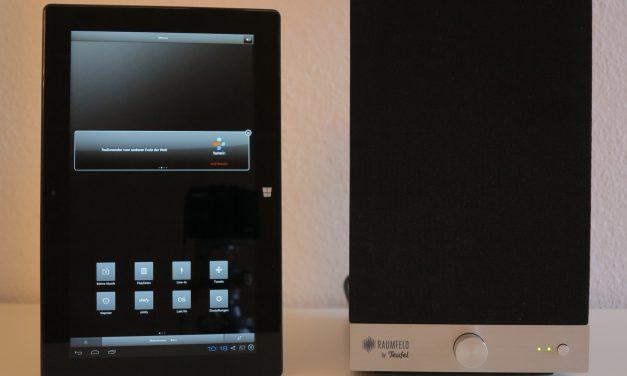 Teufel Raumfeld – Fernsteuern des Raumfeldsystem mit einem Windows 8.1 Tablet Surface Pro 2