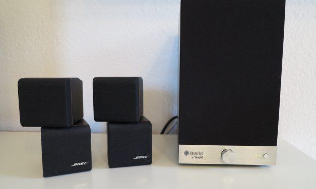 Teufel Raumfeld – Speaker M vs. Bose Doppelcube