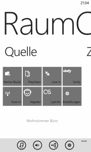 Windows Phone 8 - RaumController App Quellen