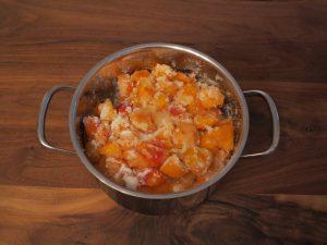 Aprikosen Marmelade - Gelier Zucker 1-1