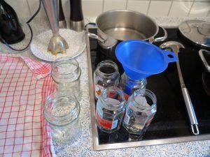 Aprikosen Marmelade - Vorbereitung