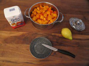 Aprikosen Marmelade - Zitrone