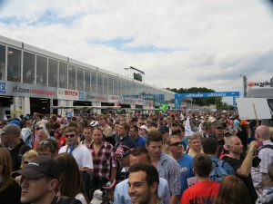 DTM 2014-Rennen am Norisring - Boxengasse 3