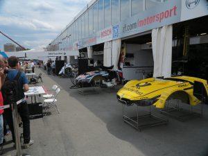 DTM 2014-Rennen am Norisring - Boxengasse