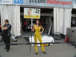 DTM 2014-Rennen am Norisring - Boxengasse Audi