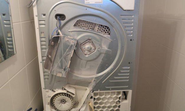 Siemens WT Wäschetrockner stinkt stark
