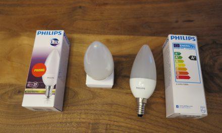 LED Lampen im Haushalt – Testbericht