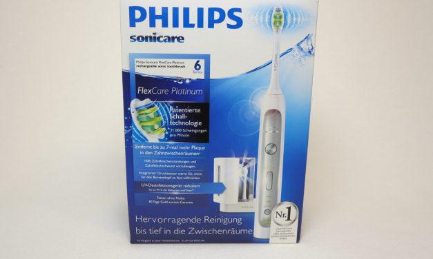 Testbericht Philips Sonicare HX9170/10 FlexCare Platinum Schallzahnbürste, UV-Desinfektion