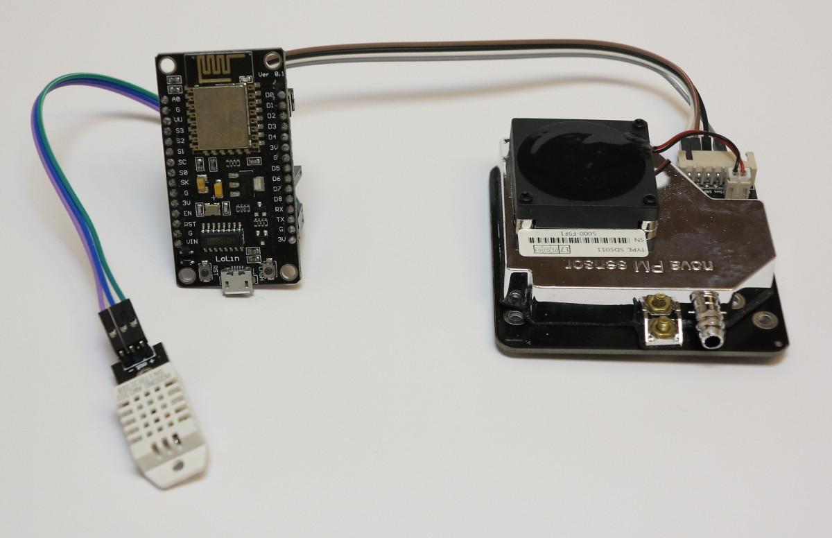 luftdaten selber messen mit dem sensor sds011. Black Bedroom Furniture Sets. Home Design Ideas