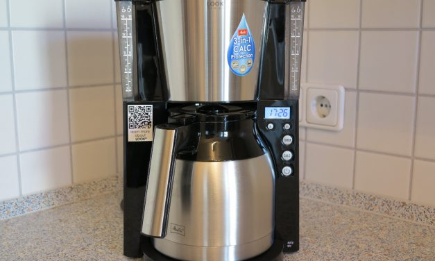 Melitta 101116 Kaffeefiltermaschine Testbericht – Look Therm Timer, Kalkschutz, Timer, schwarz/Edelstahl