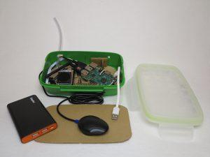 Feinstaub Sensor SDS011 - Gehäuse IKEA Brotzeitbox