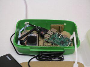 Feinstaub Sensor SDS011 - Gehäuse IKEA Brotzeitbox Nahaufnahme