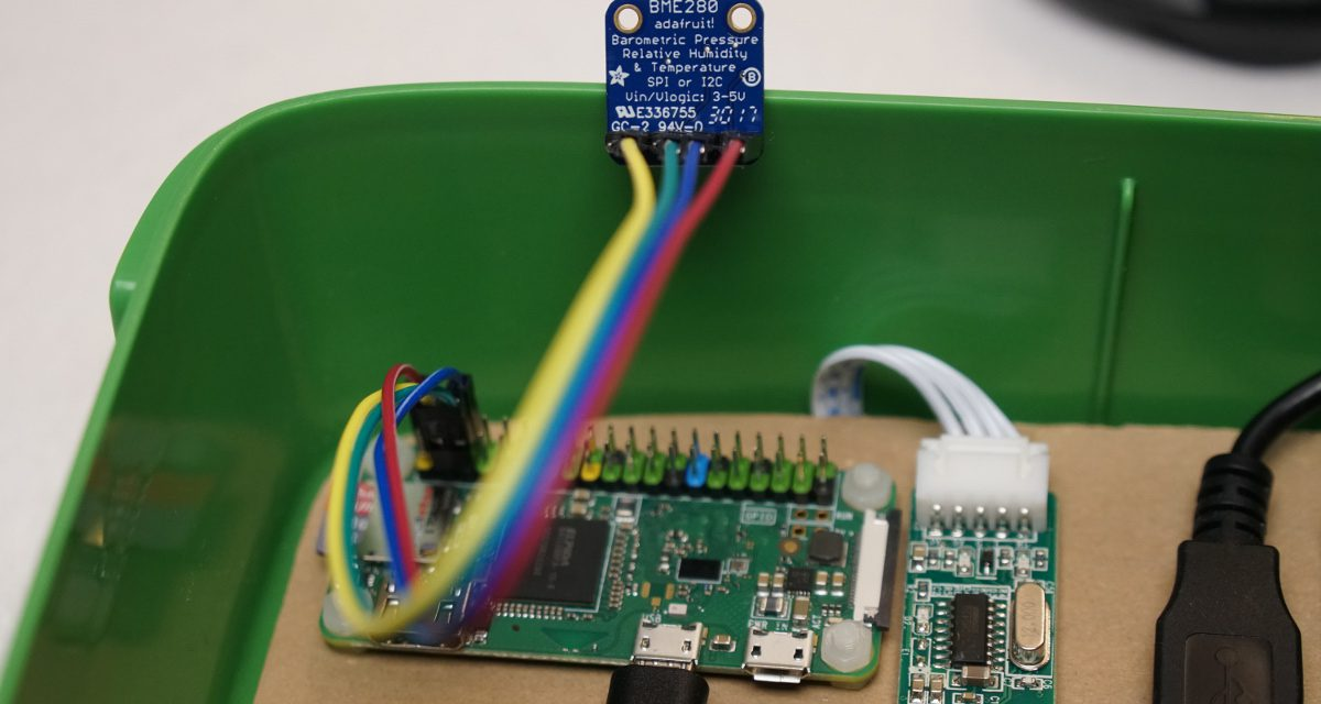 Feinstaub Sensor SDS011 – mit BME280 Sensor für Luftdruck, Lufttfeuchte und Temperatur