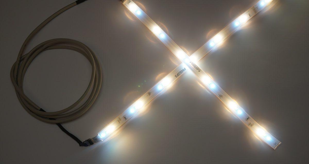 Philips Hue LED LightStrips – kürzen und individuell verlängern