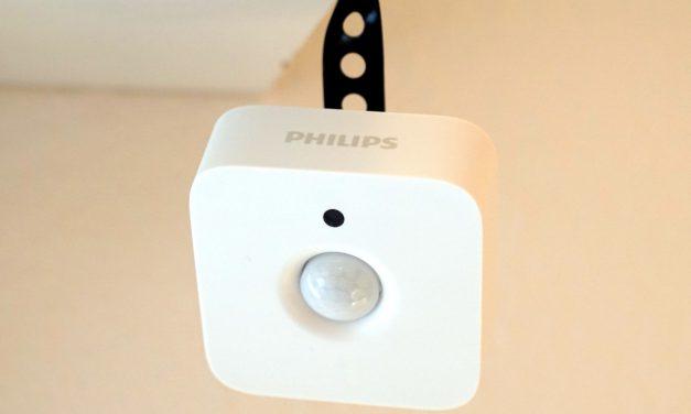 Philips Hue intelligenter Bewegungsmelder mit Tageslichtsensor Erfahrungsbericht