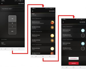 Philips Hue - Wireless Dimming Schalter App Konfiguration