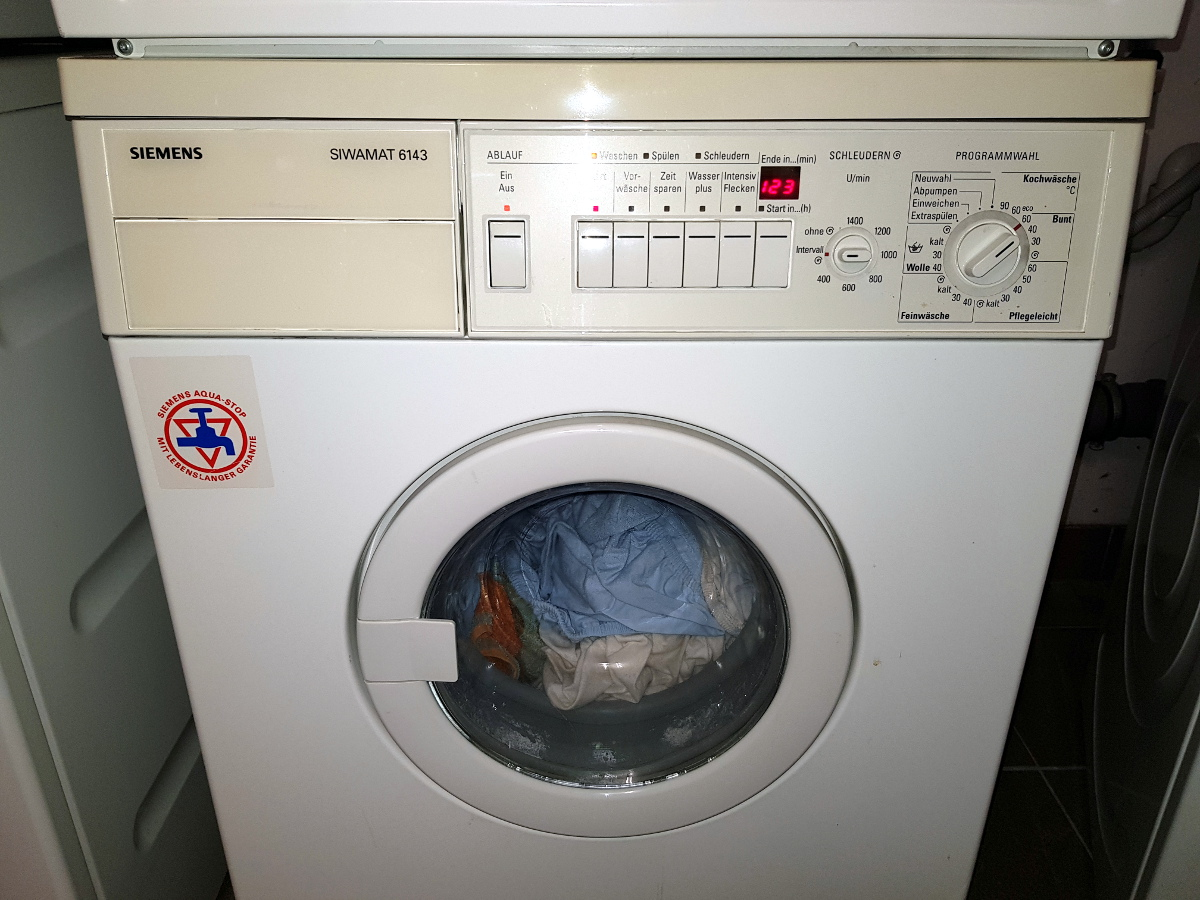Siemens Waschmaschine Siwamat Fehler 03 Spülen Und Schleudern