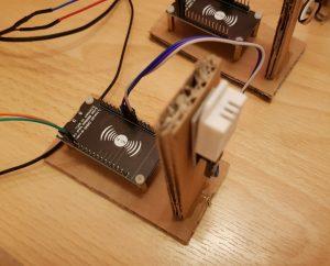 ESP8266 NodeMCU DHT22 - Sensor