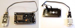 ESP8266 NodeMCU DHT22 sensor wires