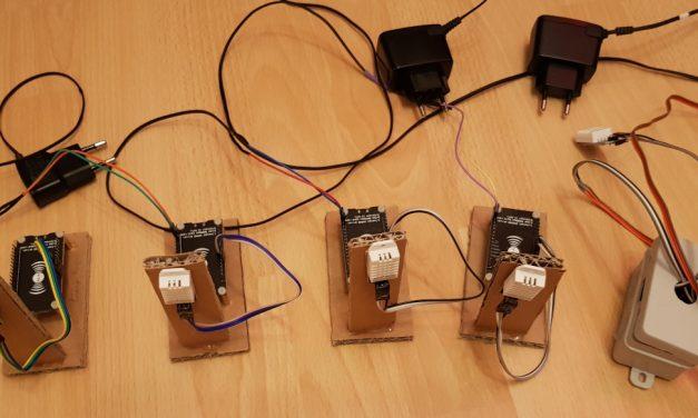 SmartHome – ESP8266 NodeMCU und DHT22 Sensor zusammenbauen und programmieren