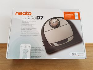 NEATO Botvac D7 Connected Staubsauger Roboter Verpackung