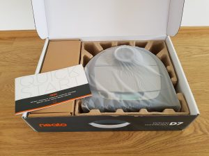 NEATO Botvac D7 Connected Staubsauger Roboter unboxing