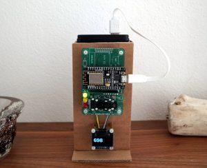 CO2 Ampel ESP8266 NodeMCU Sensirion SDC30