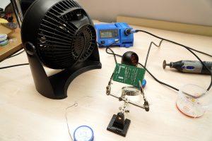 CO2 Ampel loeten ESP8266 NodeMCU ensirion SDC30