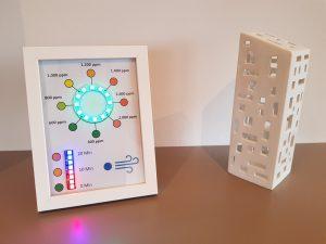 DIY CO2 Ampel Bilderrahmen