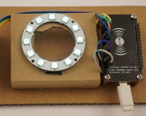 DIY CO2 Ampel Neo Pixel ring