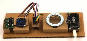 DIY CO2 Ampel Sensirion SDC30 ESP8266 NodeMCU NEOPixel OLED Display
